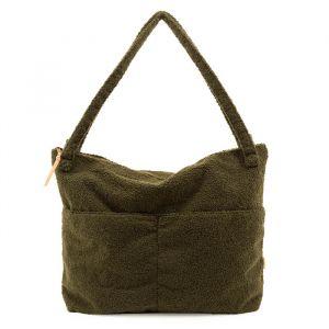 Lifestyle bag teddy green Nanami