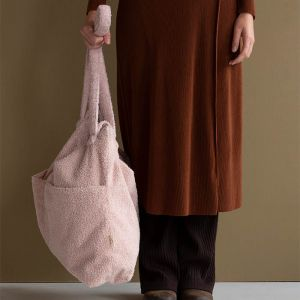 Lifestyle bag teddy soft pink Nanami