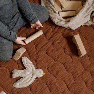 Speelkleed Stepped brown Nanami