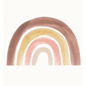 Muursticker Rainbow XXL (180x120cm) Studio Loco