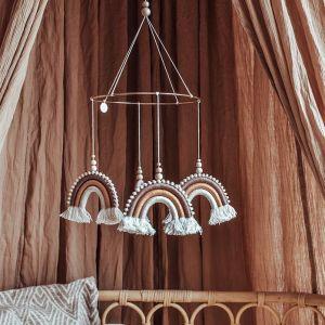 Mobiel Pompom Rainbow Marrakech Cotton Design