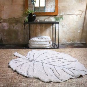 Vloerkleed Monstera natural (120x180cm) Lorena Canals