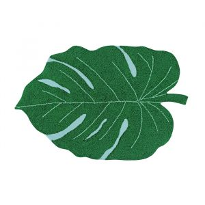 Vloerkleed Monstera green (120x160cm) Lorena Canals