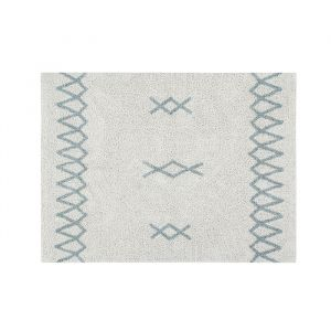 Vloerkleed Atlas natural blue (120x160cm) Lorena Canals