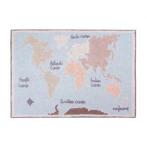 Vloerkleed Vintage Map (140x200cm) Lorena Canals