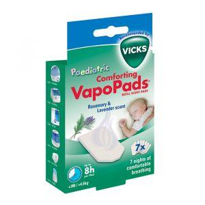 Vicks VapoPads lavendel/rozemarijn 3+ maanden (7st)
