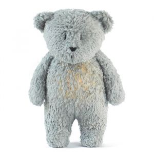 Slaapknuffel Humming Bear mineral grey Moonie