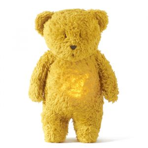 Slaapknuffel Humming Bear mustard Moonie