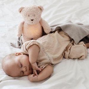 Slaapknuffel Humming Bear rose Moonie
