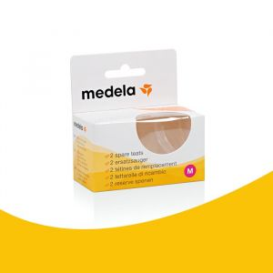 Medela flessenspenen Medium Flow (2st)