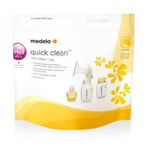 Medela QuickClean magnetronzakken (5st)