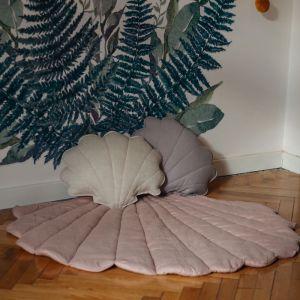 Speelkleed Shell linnen powder pink Moi Mili