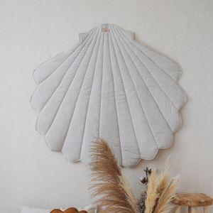 Speelkleed Shell linnen sand Moi Mili