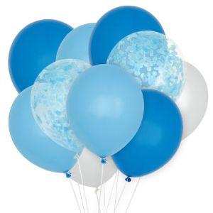 Ballonnenmix Blauw (10st) House of Gia