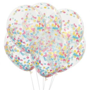 Confetti ballonnen sprinkles multi (6st) House of Gia