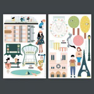 Magneten Parijs Ma Cabane à Rêves
