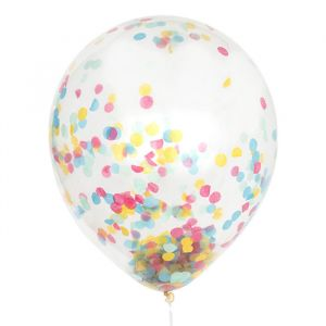 Mega confetti ballon Sprinkle Mix 60cm House of Gia