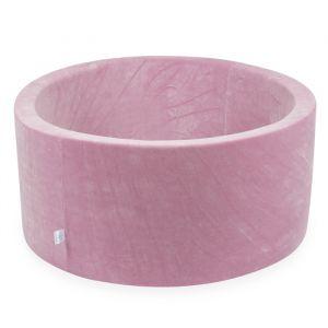 Ballenbak XL rond 90x40 velvet pink Moje