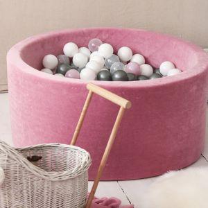 Ballenbadhoes 90x40 soft velvet pink Moje