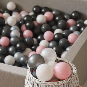 Ballenset ballenbak zwart (50st) Moje