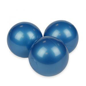 Ballenset ballenbak metallic blue (50st) Moje