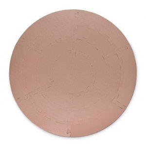 Speelmat foam rond light brown That's Mine