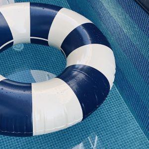 Zwemband Olivia Cannes Blue (45cm) Petites Pommes