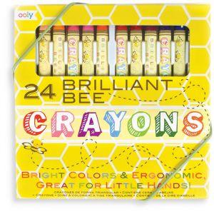 Bijenwas krijtes Briljant Bee (24st) Ooly