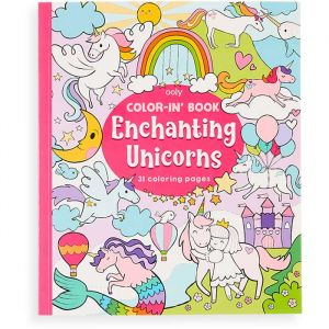 Kleurboek Enchanting Unicorns Ooly
