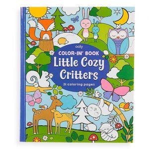 Kleurboek Little Cosy Critters Ooly
