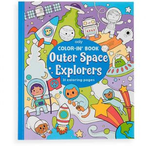 Kleurboek Outer Space Explorers Ooly