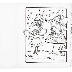 Kleurboek Princesses & Fairies Ooly