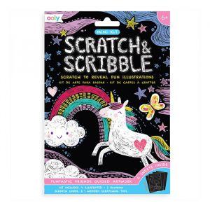 Mini scratchboek Funtastic Friends Ooly