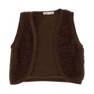Gilet Brown Cotton Fur (maat 56) Riffle Amsterdam