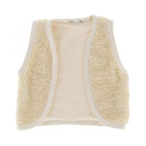 Gilet Off White Cotton Fur Riffle Amsterdam