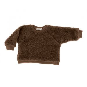 Trui Mayra Cotton Fur Brown Riffle Amsterdam