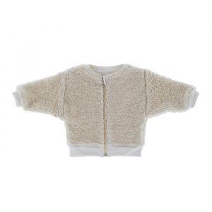 Vestje Cotton Fur Off White Riffle Amsterdam