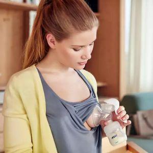 Philips Avent handkolf met fles SCF330/20