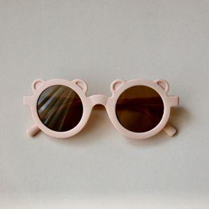 Kinderzonnebril Bear dusty pink Oh Little Deer