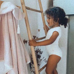 Baby badcape Tiny Lola blush Mrs. Ertha