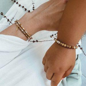 Mom & Kids armbandenset Dark Shell Mrs. Ertha