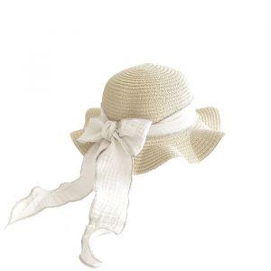 Zonnehoed Straw Vanilla (2-9 jaar) Mrs. Ertha