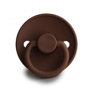 Frigg fopspeen natuurrubber Classic milk chocolate