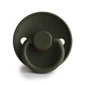Frigg fopspeen natuurrubber Classic olive