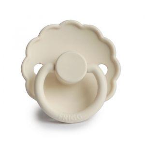 Frigg fopspeen silicone Daisy cream