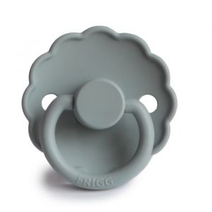 Frigg fopspeen silicone Daisy french gray