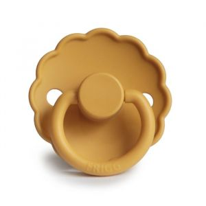 Frigg fopspeen silicone Daisy honey gold