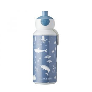 Bidon drinkfles Ocean (400ml) Little Dutch
