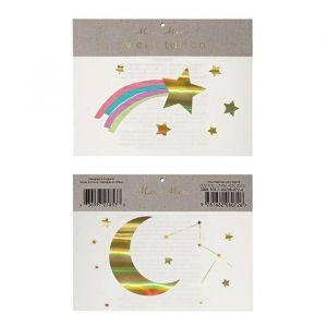 Plaktattoos Rainbow Shooting Star Meri Meri