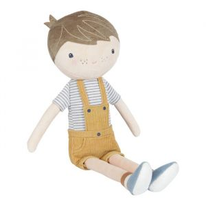 Knuffelpop Jim (50 cm) Little Dutch